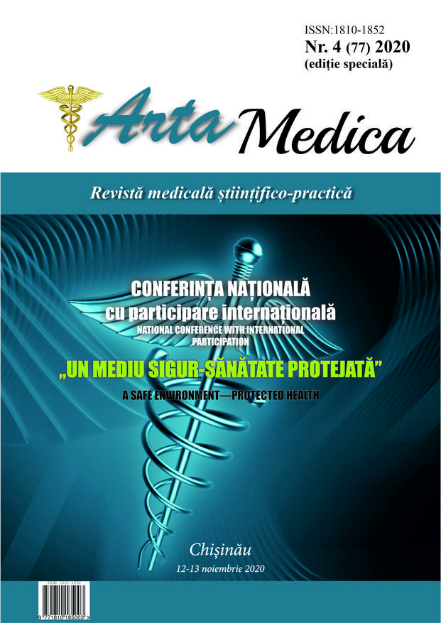 View Vol. 77 No. 4 (2020): Arta Medica